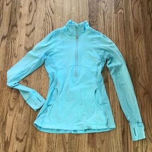 Lululemon Pullover Base Layer Long Sleeve 3/4 Zip